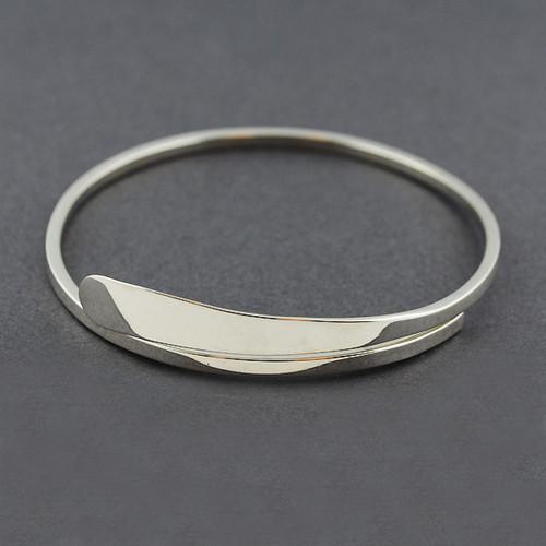 Sterling Silver Wrap Bangle