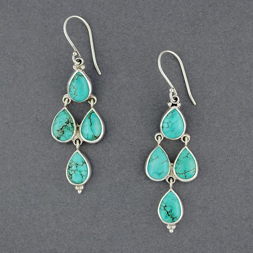 Cordelia Turquoise Earrings