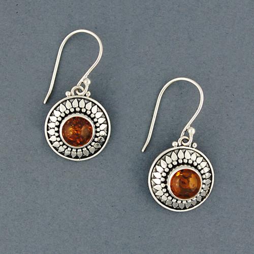 Corrina Amber Earrings