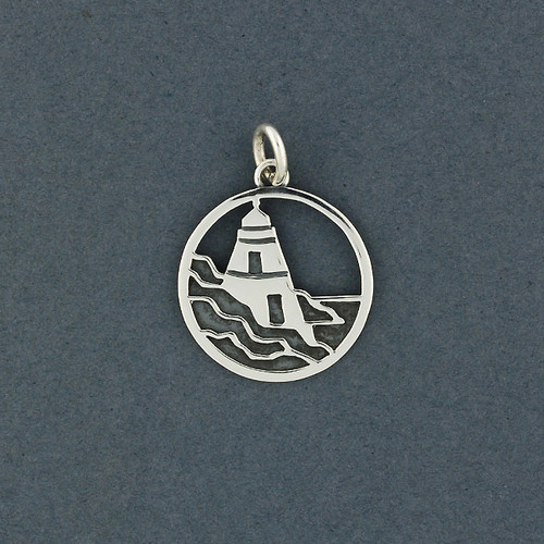 Exclusive Rhode Island Lighthouse Charm