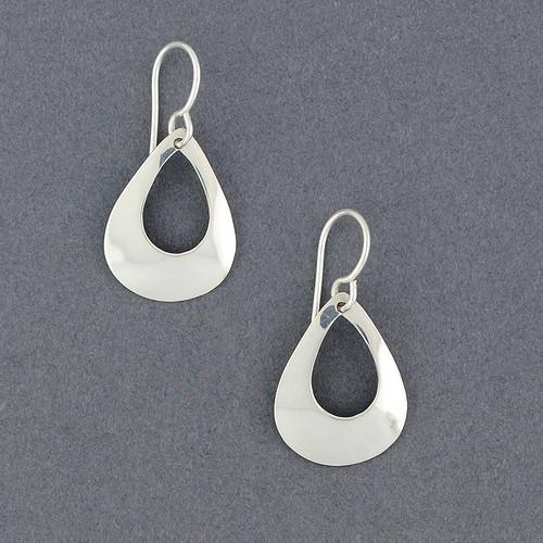 Sterling Silver Delicate Teardrop Earring