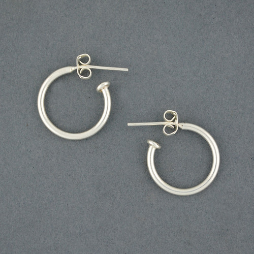 Sterling Silver Small Classic Hoop