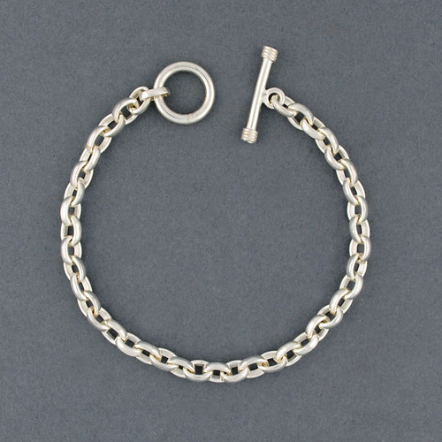 Sterling Silver Oval Link