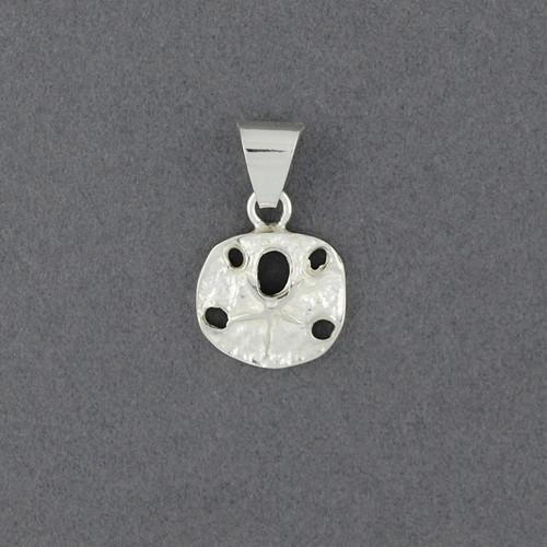 Sterling Silver Mini Sand Dollar Pendant