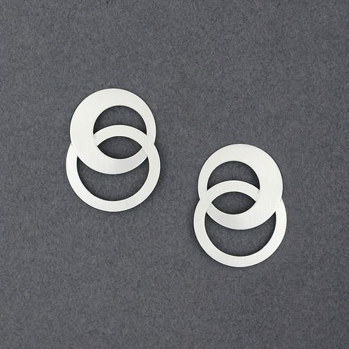 Endless Circles Post Earring