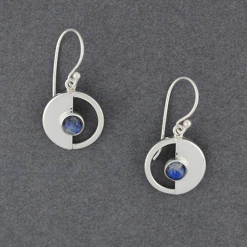 Eclipse Labradorite Earring