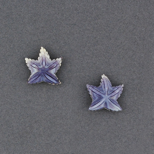 Wampum Starfish Post Earring