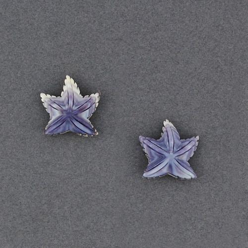 Wampum Starfish Post Earring