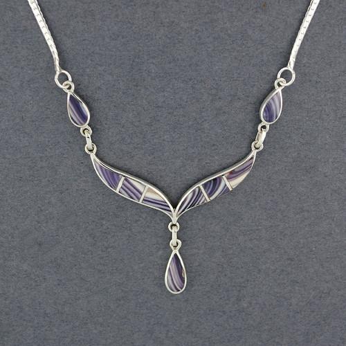 Wampum Teardrops Necklace