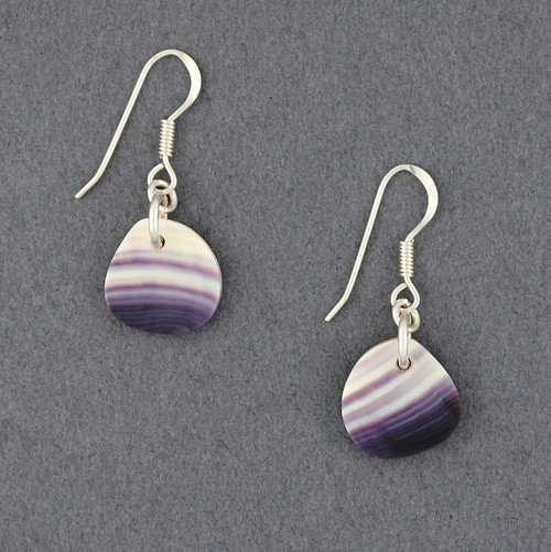 Wampum Small Free Form Earrings