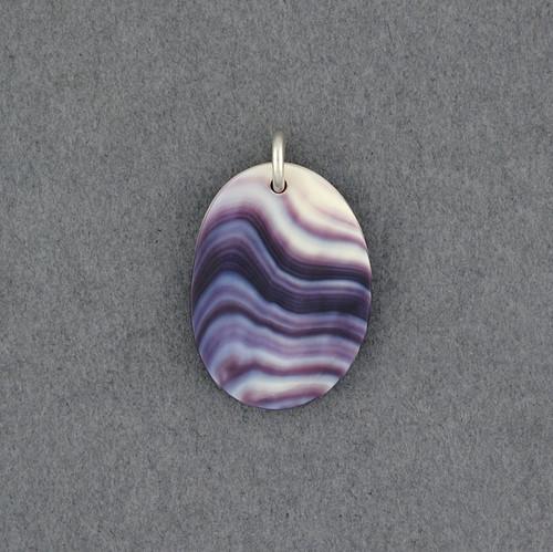 Wampum Free Form Pendant