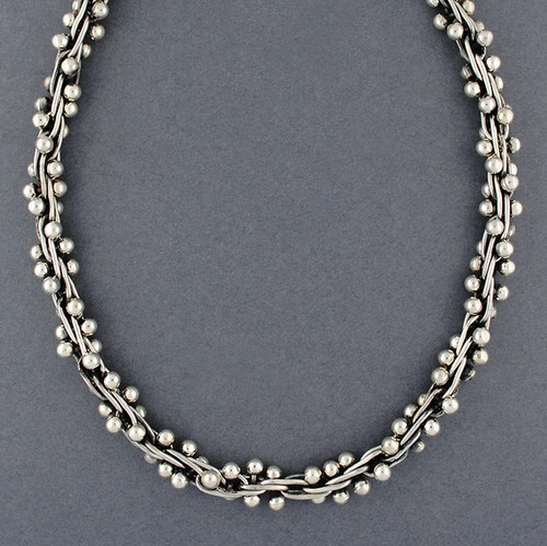 Sterling Silver Spratling Necklace