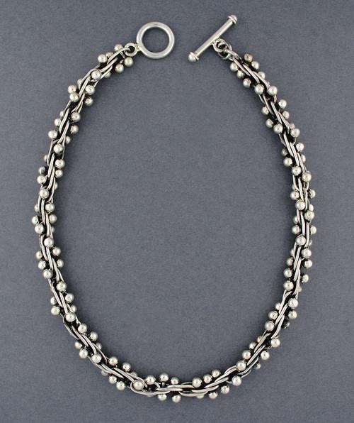 Sterling Silver Spratling Necklace