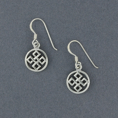 Sterling Silver Five Fold Earrings