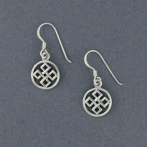 Sterling Silver Five Fold Earrings