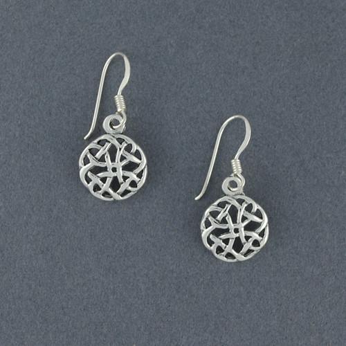 Sterling Silver Dara Knot Earrings