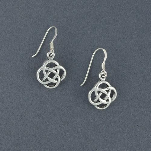 Sterling Silver Infinity Knot Earrings