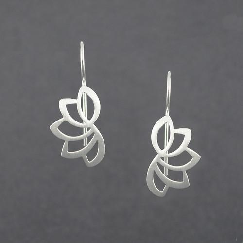 Lotus Wire Earrings