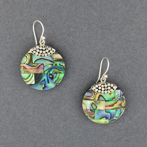Abalone Mosaic Earrings