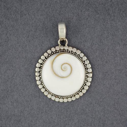 Shiva's Eye Dotted Circle Pendant