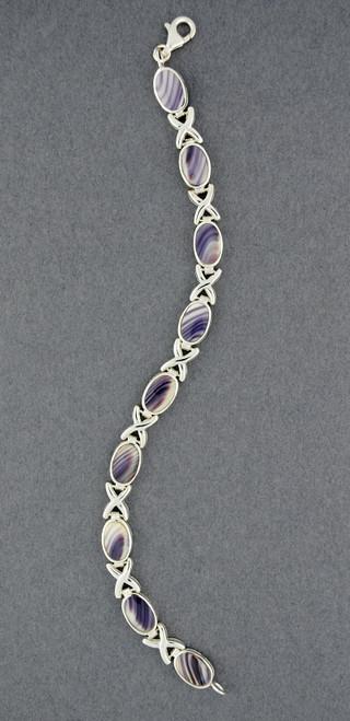 Wampum X and Oval Bracelet