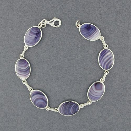 Wampum Medium Oval Link Bracelet