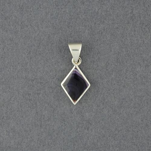 Wampum Small Diamond  Pendant