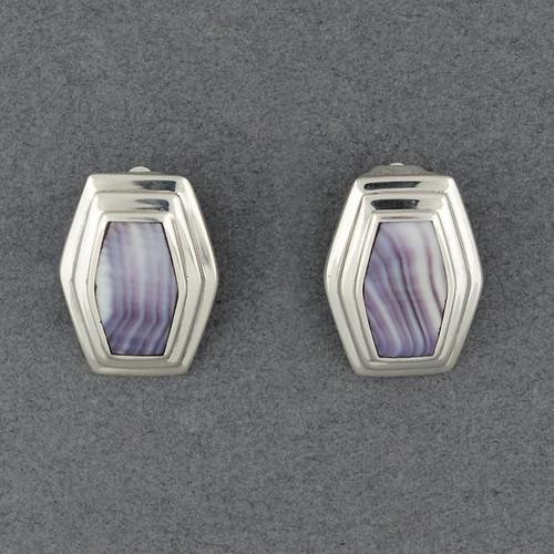 Wampum Clip Earring