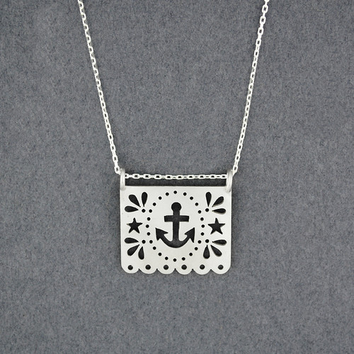 Papel Anchor Necklace