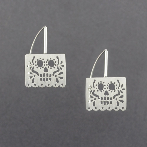 Papel Skull Earrings