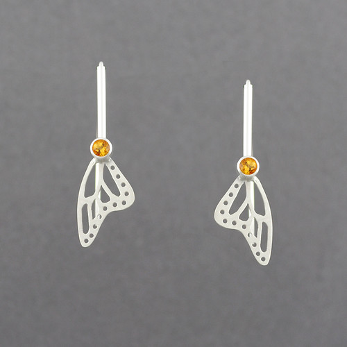 Butterfly Wing Gem Earrings