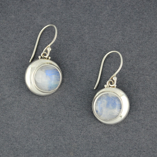 Eclipse Moonstone Earrings