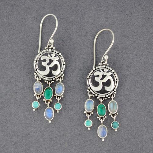 Om Shanti Earrings