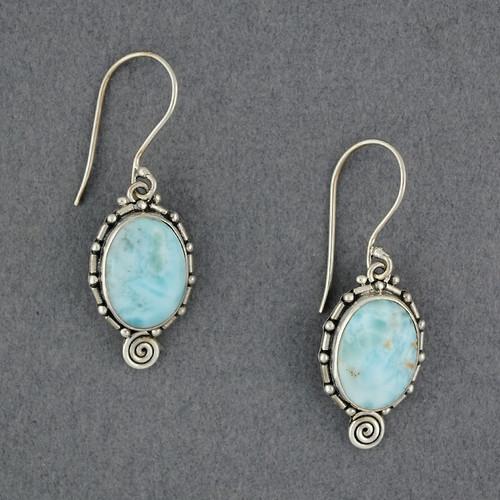 Johanna Larimar Earrings