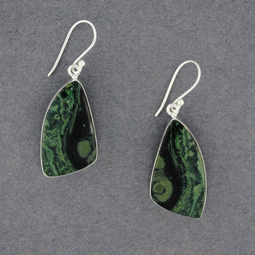 Sterling Silver Star Galaxy Earrings