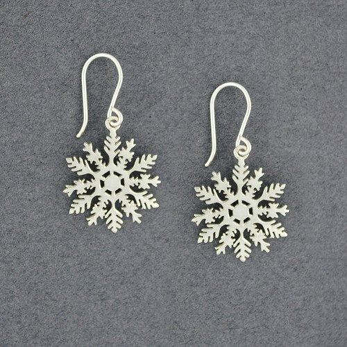 2020 Limited Edition Sterling Silver Snowflake Earring