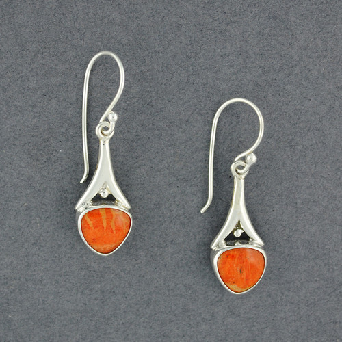 Within Coral Earrings