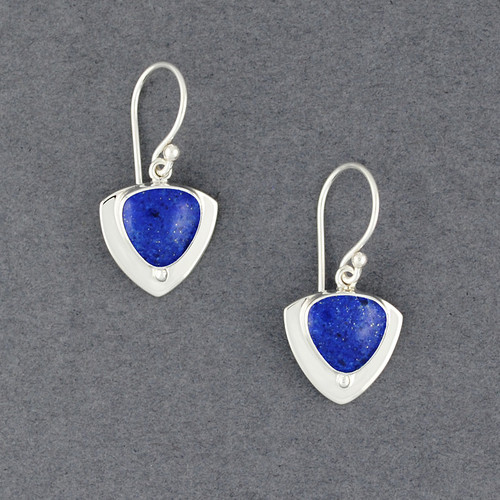 Trillion Lapis Earrings