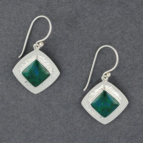 Reflection Chrysocola Earrings
