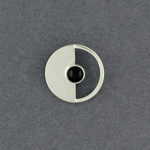 Eclipse Obsidian Pendant