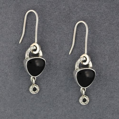 Flashes Obsidian Earrings