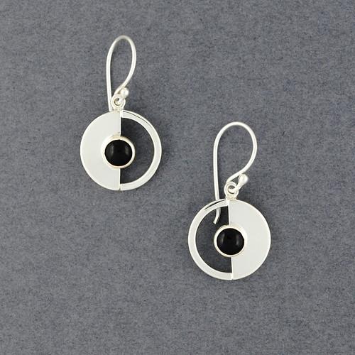 Eclipse Obsidian Earrings