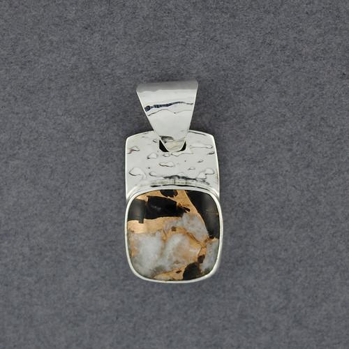 Vertice Dalmation Stone Pendant