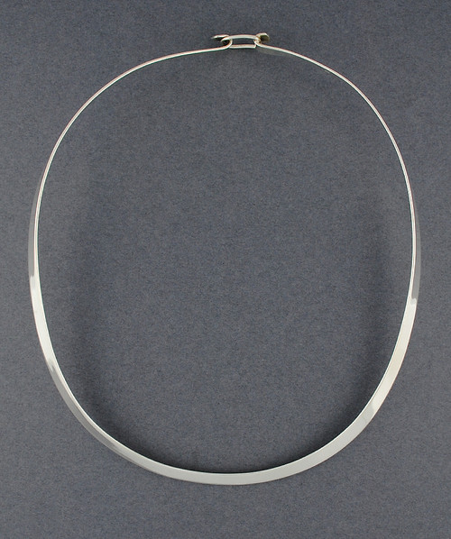 Sterling Silver Flat Neckwire