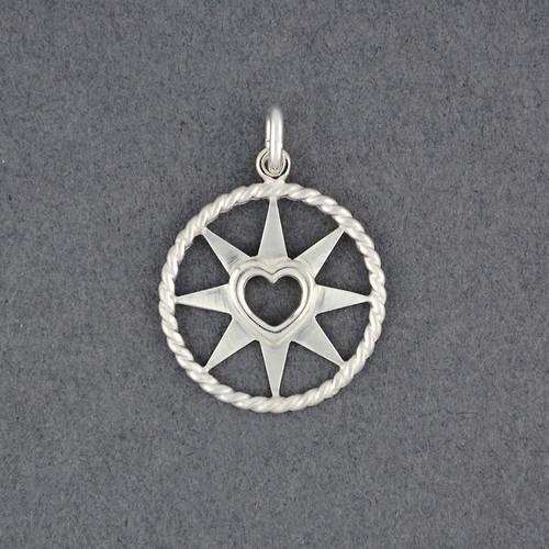 Navigator Heart Pendant