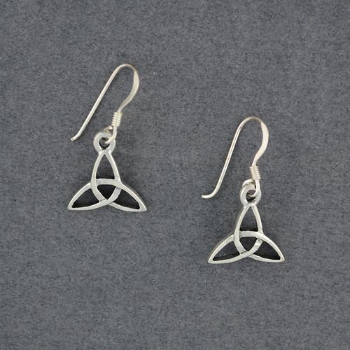 Sterlin Silver Trinity Knot Earrings