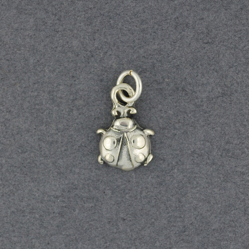 Sterling Silver Beetle Pendant