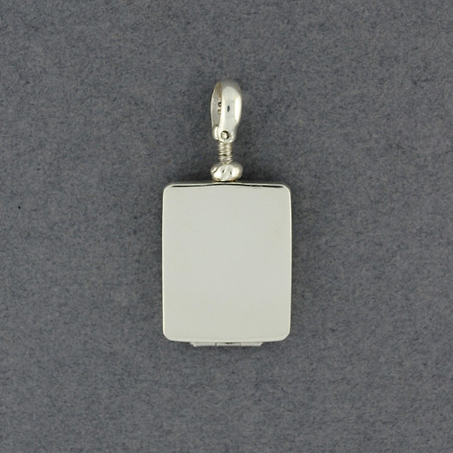 Sterling Silver Rectangle Locket