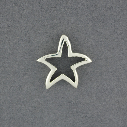 Sterling Silver Open Starfish Pendant