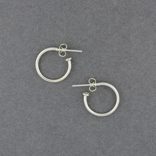 Sterling Silver Mini Rounded Hoop